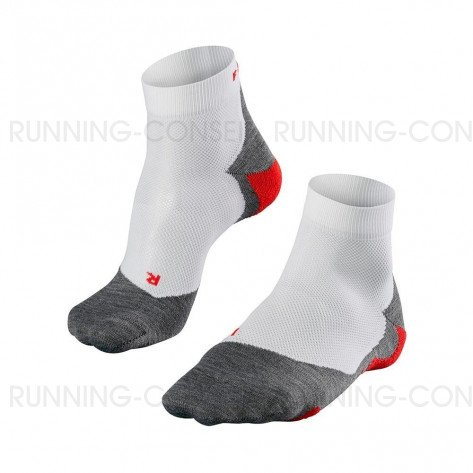 FALKE CHAUSSETTES RUNNING RU5 LIGHTWEIGHT SHORT HOMME | WHITE / MIX | Collection Printemps-Été 2019