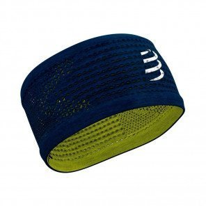 COMPRESSPORT Bandeau HEADBAND ON/OFF | Bleu/Lime