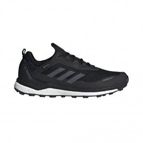 ADIDAS TERREX AGRAVIC FLOW GORE-TEX Homme | Core Black / Grey Six / Solar Orange