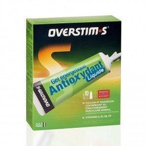 Gel antioxydant liquide Fraise Banane overtism's - Gels énergétiques