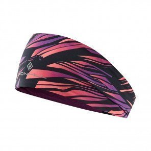 RONHILL BANDEAU REVERSIBLE CONTOUR Femme | GRAPE JUICE/HOT COAL