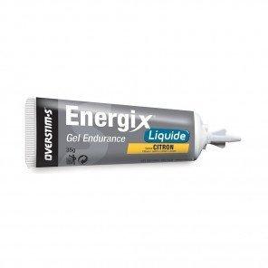 OVERSTIM'S ENERGIX LIQUIDE Citron (Boîte de 10 tubes)