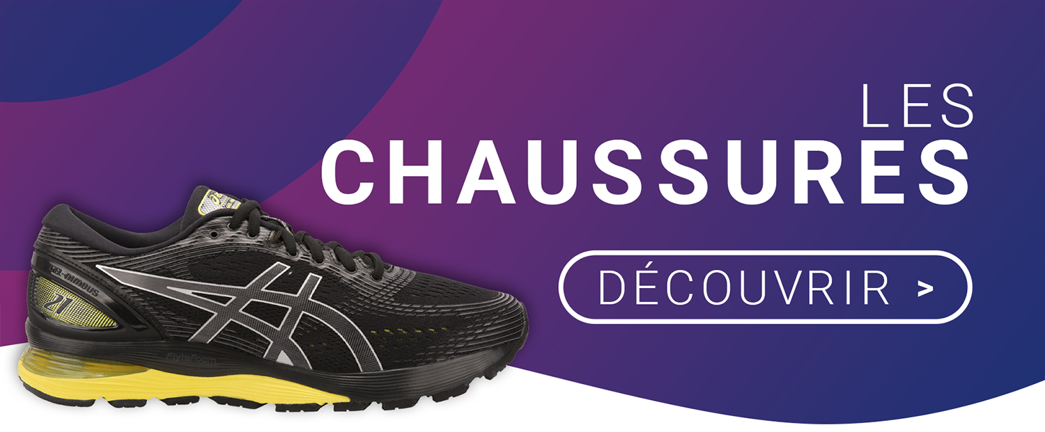 Offre chaussures ASICS avril 2019